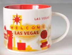 You Are Here – Las Vegas – Starbucks Mugs
