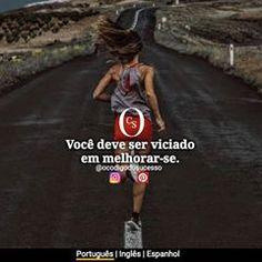 Busque sempre evoluir. 💪 .  #ocodigodosucesso Self Esteem, Just Do It, Spanish, English, Instagram, Inspiration, 1, Fitness Motivation, Optimism