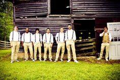 Vintage Wedding: Men in Suspenders. Casual Wedding, Wedding Groom, Wedding Men, Wedding Attire, Wedding Styles, Dream Wedding, Wedding Ideas, Wedding Shot, Wedding Vintage