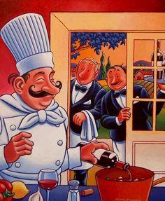 Art deco cuisiniers etc..