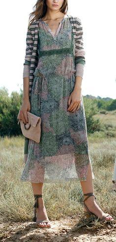The perfect boho dress