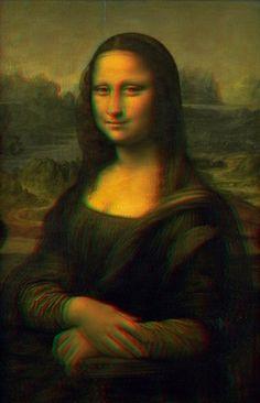La Joconde in 3D - #Leonardo da #Vinci