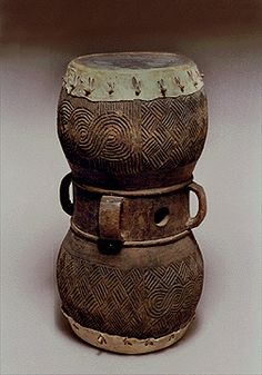 Chokwe Wood Drum,  Zaire | ADAC  Like Jacob's that Amy just brought back from Mali Africa - SHopkins