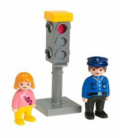 Playmobil 1.2.3 Traffic Light by Playmobil. $6.98. 6.7 x 8 x 2.2 inches. Big pieces for toddlers! The bright colors, rounded shapes, and loving details of PLAYMOBIL 1.2.3. help children to develop and to learn through play. PLAYMOBIL 1.2.3 toys are color fast, easily washable and safe.