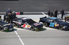 #5 Nascar Nationwide Series race car before qualifying at Richmond.