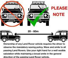 The Landy waving rule.