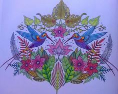 Gekleurd uit #MagicJungle van #JohannaBasford