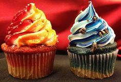 Fire and Ice Themed Cupcakes | Restaurant Operations