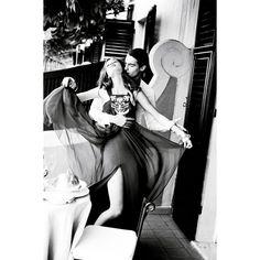 Photoshoot Monika Jagaciak for Dior Cruise 2012 lookbook (part 2) found on Polyvore