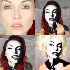 31 Thrilling Transformations Realized with the Power of Makeup - My Modern Met