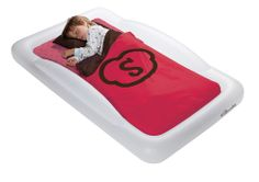 Crest Blanket Red - Cuddle up with these adorable blankets, made from super soft fleece. Designed to complement The Shrunks Travel Beds, the bold design looks great in any room.  http://www.theshrunks.com/shop/indoor-products/bedding/Crest-Blanket-Red/?products_id=89048