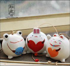 Aliexpress.com : Buy Animal handmade ceramic wind chimes japanese style windbags cartoon car from Reliable car dvd player gps suppliers on TGLOE. $5.91