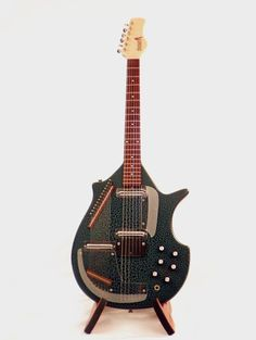 Jerry Jones Master Sitar early 1990s Gator green