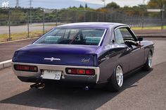 Nissan Laurel,  that is an American looking import!