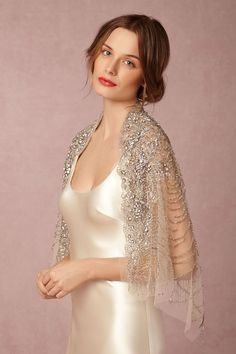 BHLDN Ursa Beaded Wrap | Cover Ups | $750