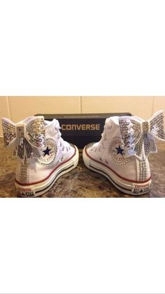Amazing new converse come with box. All junior sizes ribbon laces. Also come in different colours contact me if different colour is needed. Wedding Converse, New Converse, Wedding Shoes, Do Your Own Thing, Prom Shoes, Baby Feet, Custom Shoes, Fall Outfits, Socks