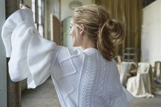 Wearing a Valentino sweater. | Olivia Palermo Is Wearing the Most Romantic Dresses You've Ever Seen | POPSUGAR Fashion