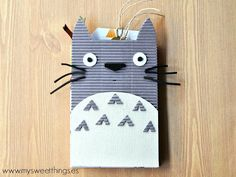 TARJETA | Tarjeta-álbum Totoro