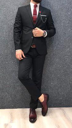 Zandass SlimFit Vest Black is part of Suit vest - Product SlimFit vest suit Color code plaid black Size material Machine washable No Fitting Slimfit Remarks Dry Cleaner Size ( 48 Size ( 50 Size ( 52 Size ( 54 Size ( 56 Size meas Mens Casual Suits, Stylish Mens Outfits, Mens Fashion Suits, Mens Suits, Black Outfit Men, Formal Men Outfit, Mens Semi Formal Wear, Blue Suit Men, Black Suits