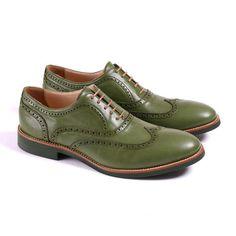 Men's #Wingtips // Green