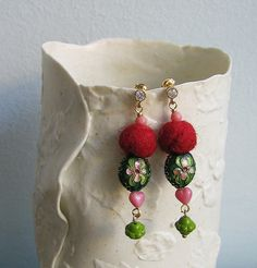 """Like a gypsy"" earrings by pompomdesign, via Flickr"