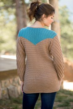 Caretaker Pullover for Interweave Knits Spring 2014