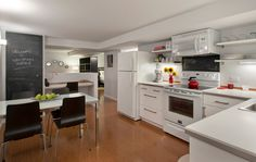 Image result for scott mcgillivray kitchen renovation INCOME SUITE I DON'T LOVE IT BUT HERES AN EXAMPLE OF WHITE CABINETS APPLIANCES WOOD FLOORS