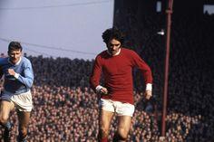 George Best en Old Trafford. Manchester United - Man. City