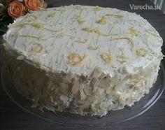 Upiekla som mužovi k narodeninám.... Výborná, kyselkavá torta.