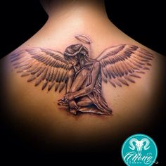 #tattoo #tattoos #tattooed #tatts #tatted #tatto #tattedup #tattooart #art #tattoolife #tattooflash #tattooartist #artist #tattooedgirls #ink #inked #inkedgirls #inkedup #inklife #black #blackandwhite #blackandwhitetattoo #angel #womanangel #girlsangel #wings