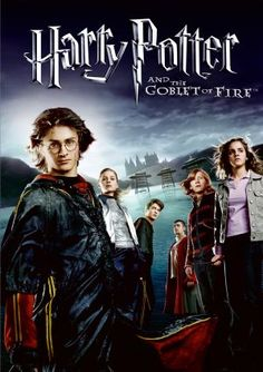 Harry Potter and the Goblet of Fire movie cover