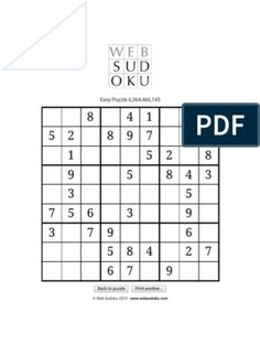 Web Sudoku - Billions of Free Sudoku Puzzles to Play Online Free Books To Read, Free Pdf Books, Free Ebooks, Best Story Books, Novels To Read Online, Romantic Novels To Read, Free Novels, Sudoku Puzzles, Book Sites