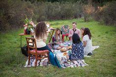 Valentine's Day picnic for friends | Photo by Sara Press