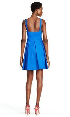 Sleeveless Pleated Dress - Polo Ralph Lauren Short Dresses - RalphLauren.com
