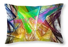 Throw Pillow - Abstract 9618