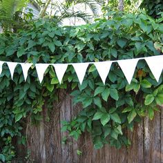 Classic White Bunting – Byron Bay Bunting