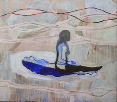 pollen: Les peintures d'Alexandra Duprez à la Galerie Aleph, par Valérie Belmokhtar (english and french versions)