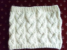 Free Knitting Pattern - Cowls and Neck Warmers: Turtle Tracks Cowl