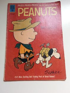 Vintage Peanuts Dell Comic Book 10 1961 by WhiteSquirrelVintage
