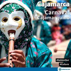 #SabíasQue El Carnaval de Cajamarca es uno de los más grandes de nuestro país. Los danzantes se caracterizan por tener un disfraz muy colorido, hay mucha música, alegría, juegos con pistolas de agua, etc. #Cultural  Más información en http://blog.costamar.com/destinos/cultural/carnaval-de-cajamarca/  Compra online en www.costamar.com