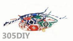 [305DIY]미산가 SET 팔찌만들기, easy braid friendship bracelets DIY tutorial