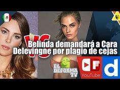 11 Belinda demandará a Cara Delevingne por plagio de cejas