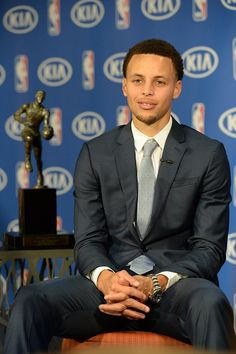The 2015 #KIAMVP Steph Curry.