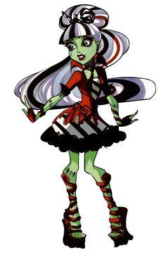 Monster High Artworks/PNG: Frankie Stein