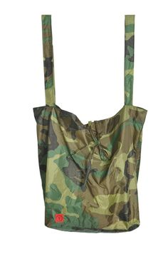 We made over our Isa tote in camo print rip-stop nylon for our friends at Winnifred Beach and we're sort of obsessed with it.