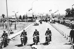 1964 - Inaugurata l'autostrada del Sole (Ansa) The Past, Shots, Street View, History, Milano, San Francesco, Grande, Opera, Wheels