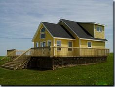 Your PEI Vacation - Photo gallery for Ocean Villa vacation rental located in Park Corner Price Edward Island. Vacation Villas, Vacation Rentals, Prince Edward Island, White Sand Beach, Ocean, Cabin, Park, House Styles, Corner