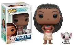 ToyzMag.com » Vaiana : avalanche de figurines Funko Disney