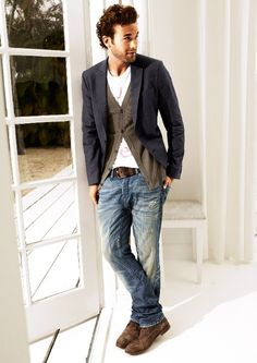 great blazer/cardi combo