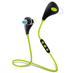 Sport headphones Wewdigi HIFI Wireless Mini Lightweight Wireless Stereo Sportsrunning Gymexercise Bluetooth Headphones Headsets With Mic Microphone Green *** Be sure to check out this awesome product. Noise Cancelling Headphones, Bluetooth Headphones, Ps4 Headset, Sports Headphones, Technology Gadgets, Cell Phone Accessories, Ear, Sound Song, Special Deals
